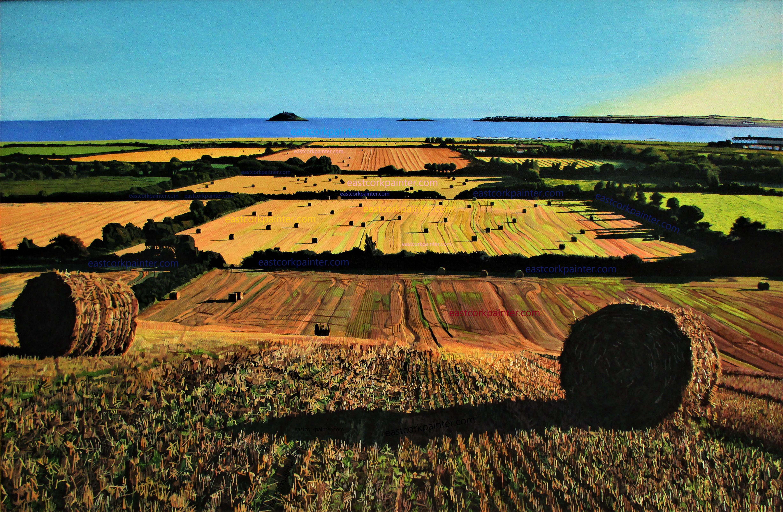 Autumnal View Of Garryvoe Watermark