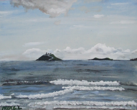 Ballycotton Islands and Pier