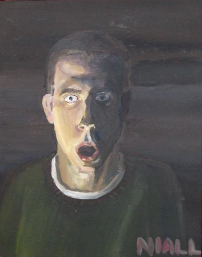 Candlelit Self-Portrait