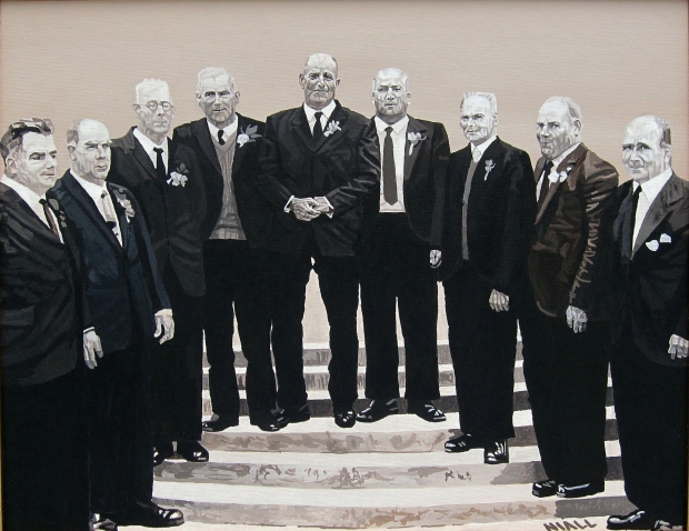 Grandfather and his Eight Brothers