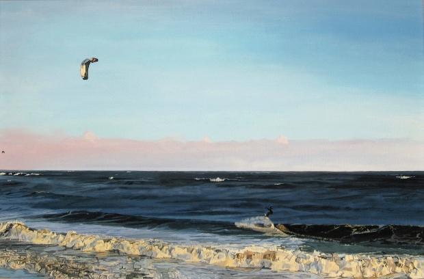 Kite Surfer in Garryvoe, November, 2011