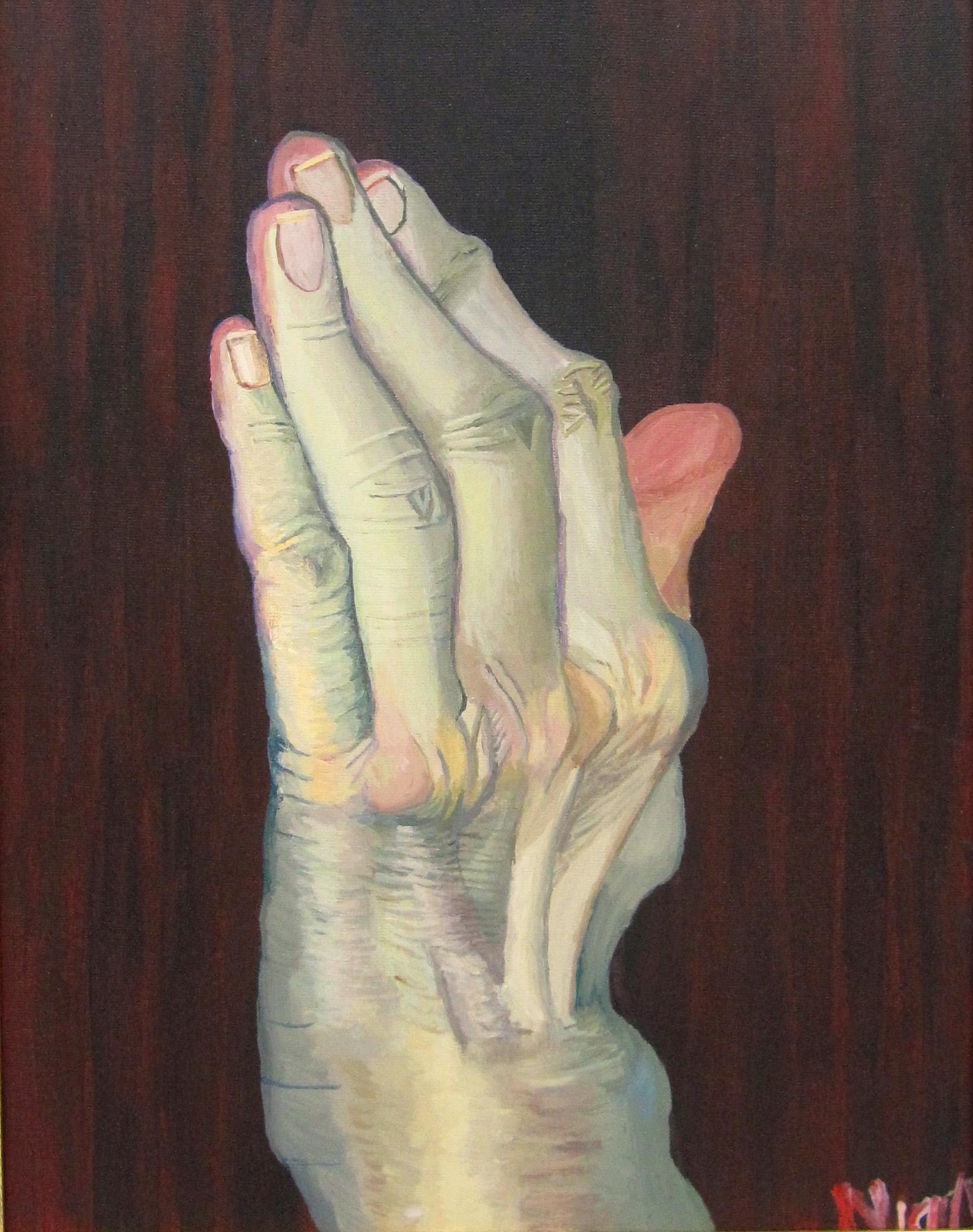 Mam's Arthritic Left Hand