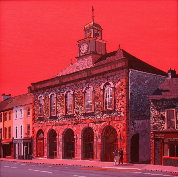 Midleton Library Building:  A Study in Red