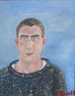 Self-portrait aged 18