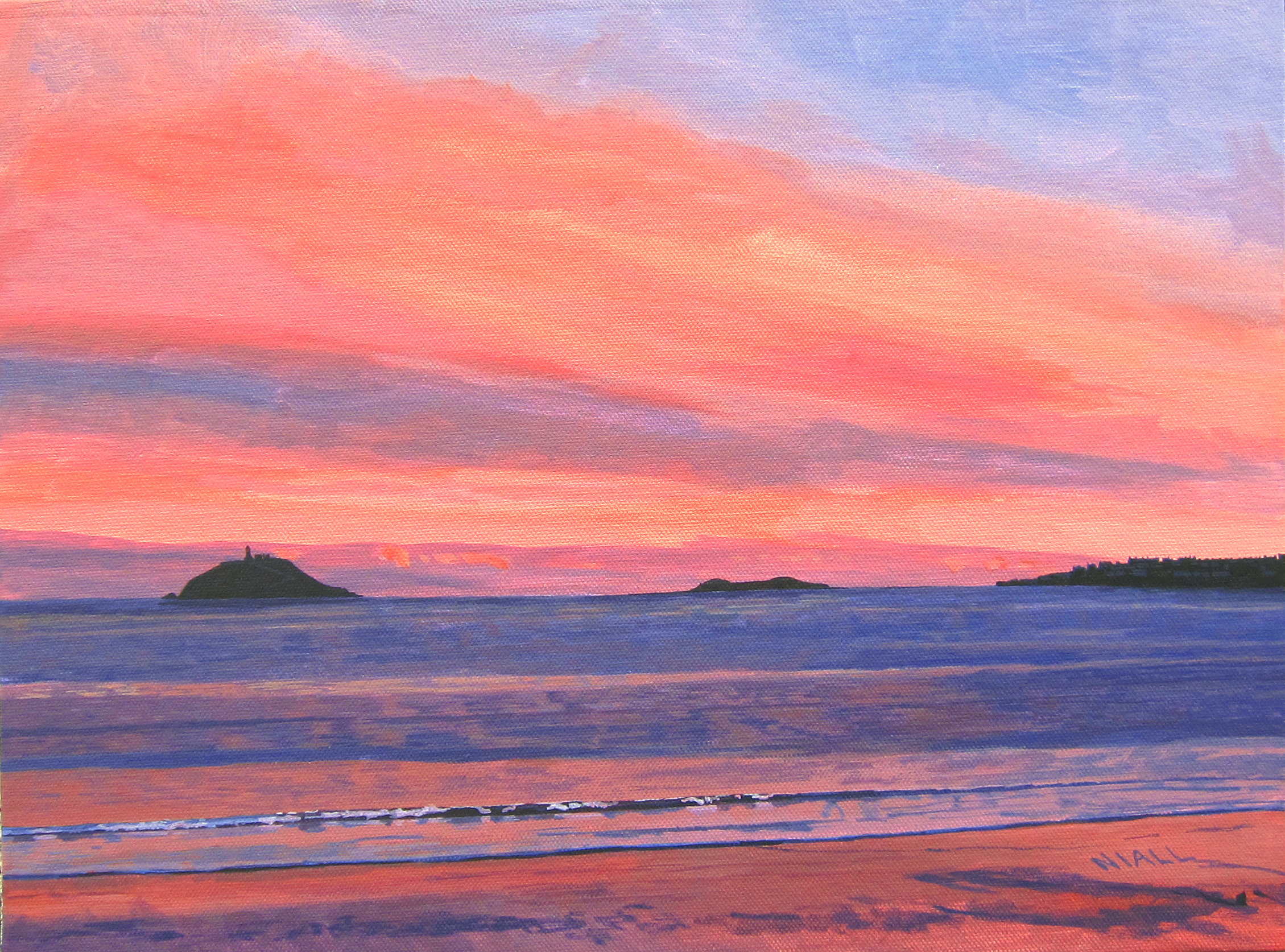 Sunset View of Ballycotton.