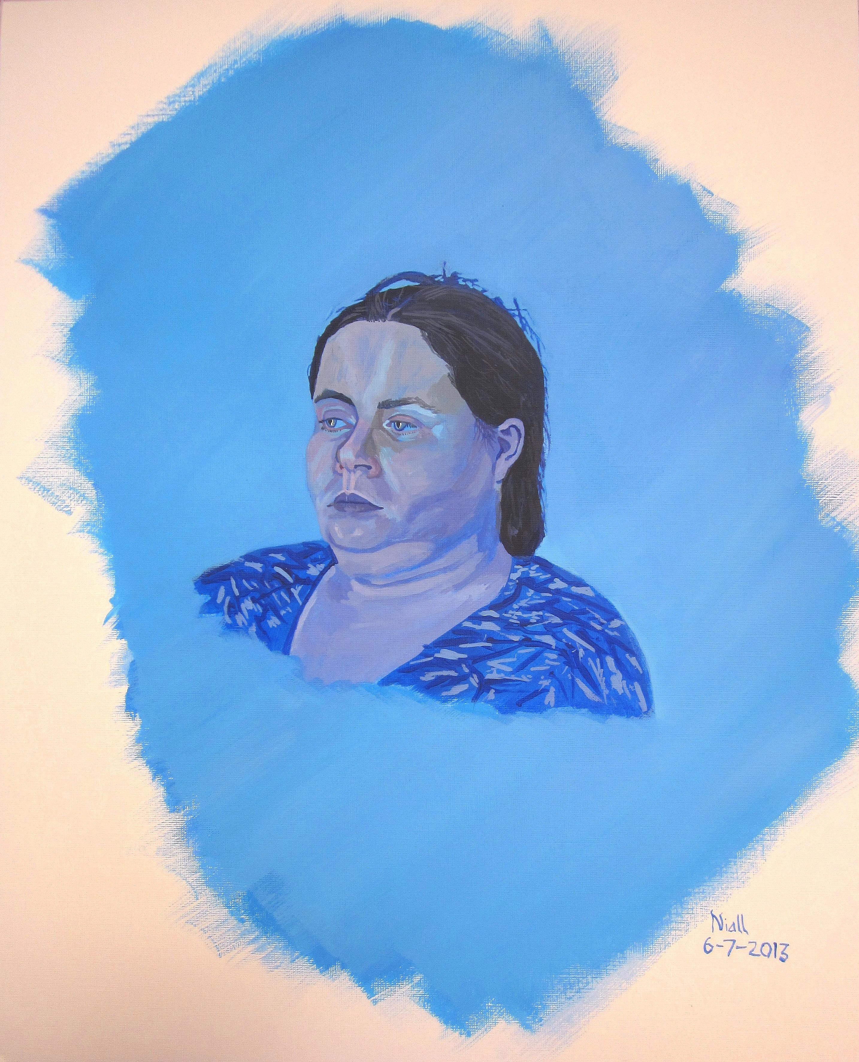 Emer In Blue