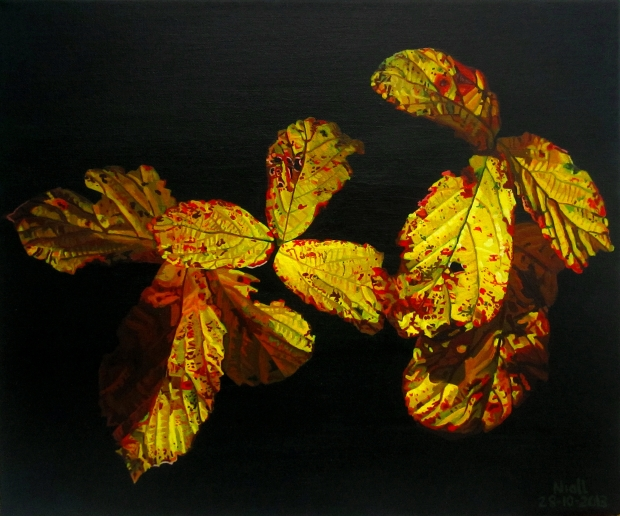 Autumnal Briar Leaves