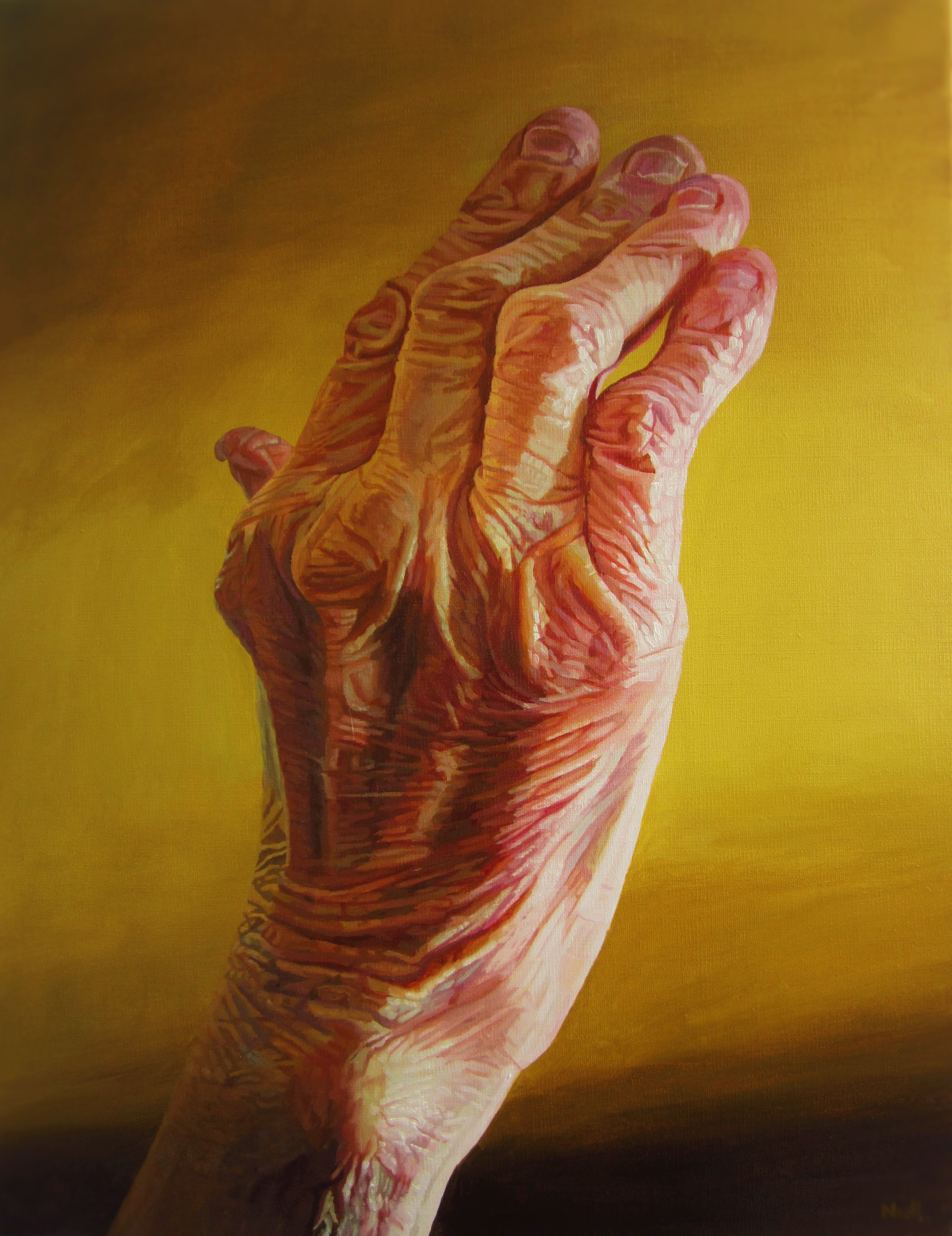 Oil painting eastcorkpainter for Watercolor paintings of hands