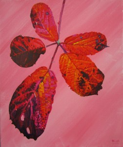 Autumnal Briar Leaves 6