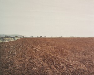 Freshly Ploughed Strand Field