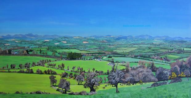 Panoramic View From Curraghdermot watermark