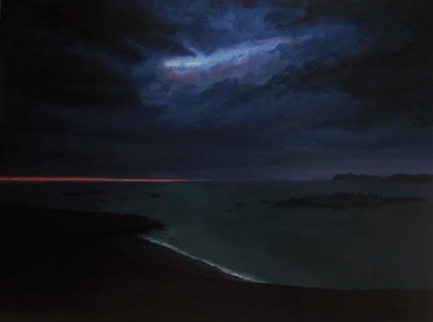 Blasket Island Nocturne watermark