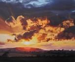 Midsummer Golden Sunset