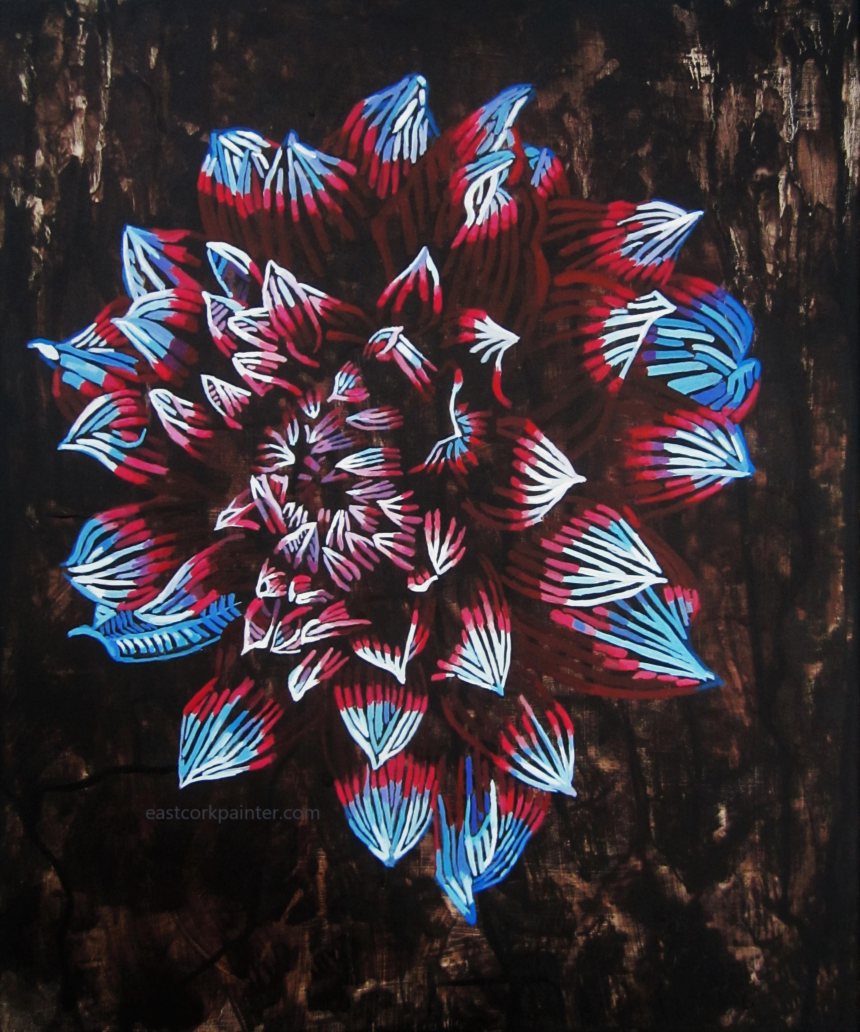 Deconstructed Dahlia watermark