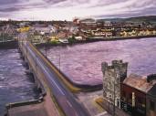 View of Thomond Bridge From King John's Castle, Limerick City