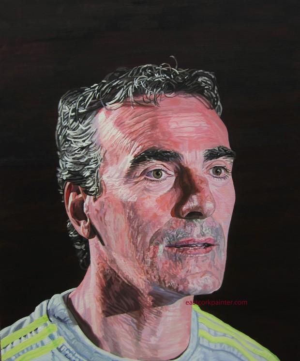 A Portrait Of Jim McGuinness watermark