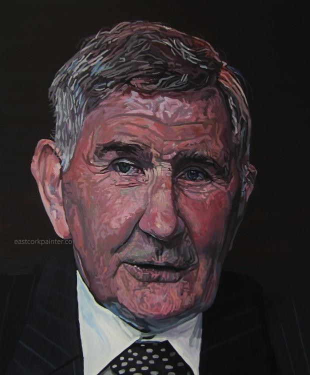 A Portrait Of Mick O'Dwyer watermark