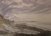 Seaweed Mounds On Garryvoe Beach watermarked