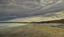 Slanted Sunlight Over Garryvoe Beach watermark