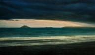 Darkness And Sunlight On Garryvoe Beach