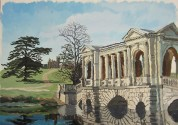 Palladian Bridge, Stowe House Gardens watermark