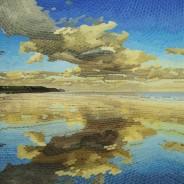 Mirrored Strand Watermark