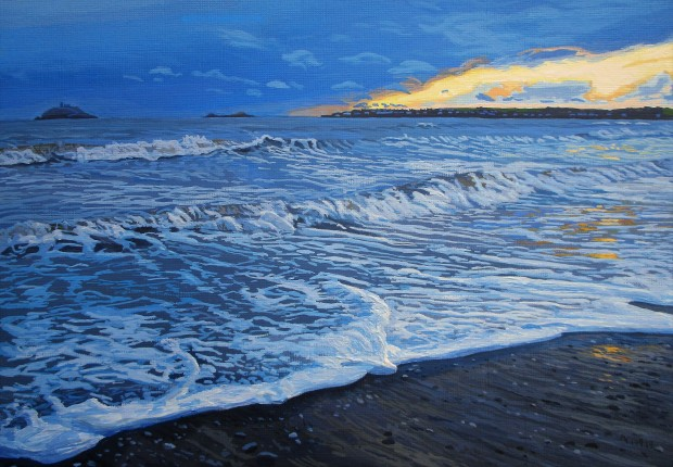Blue Seascape watermark