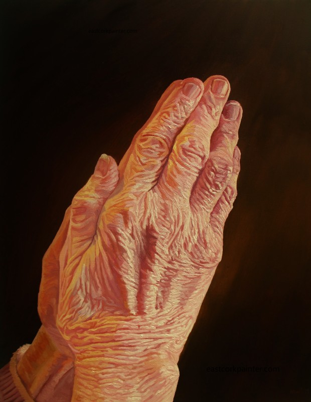 Mother's Praying Hands (Inspired By Duerer
