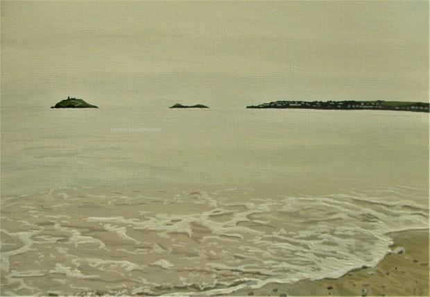 Calm Sea At Garryvoe Beach
